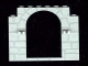 Part No: 40242  Name: Door Frame 1 x 8 x 6 with Stone Pattern and Clips