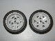 Lot ID: 248295821  Part No: 41896c04  Name: Wheel 43.2mm D. x 26mm Technic Racing Small, 3 Pin Holes with Black Tire 56 x 28 ZR Street (41896 / 41897)