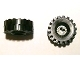 Part No: 4265ac01  Name: Technic Bush 1/2 Toothed Type I, with Black Tire 21mm D. x 9mm Offset Tread Medium (4265a / 4084)