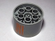 Part No: 4266pb07  Name: Wheel 20 x 30 Technic with 4 Broken Orange Lines Pattern (Sticker) - Set 10129