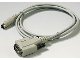 Part No: bb0765  Name: Electric, Connector, Serial 9 Pin Male to 8 Pin Macintosh
