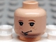 Part No: 3626bpb0009  Name: Minifigure, Head Male HP Ron with Freckles Pattern - Blocked Open Stud
