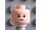 Part No: 3626bpb0252  Name: Minifigure, Head Male SW Gray Stubble and Gray Eyebrows Pattern (Owen Lars) - Blocked Open Stud