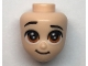 Part No: 66581  Name: Mini Doll, Head Friends with Brown Large Eyes, Raised Right Eyebrow, and Closed Mouth Pattern (Kristoff)