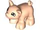 Part No: 70679pb01  Name: Duplo, Animal Pig Baby Piglet Short