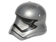 Part No: 20904pb01  Name: Minifigure, Headgear Helmet SW Stormtrooper Ep. 7 Captain Phasma Rounded Mouth Pattern