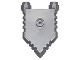 Part No: 22408  Name: Minifigure, Shield Pentagonal