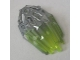Part No: 24166pb05  Name: Bionicle Crystal Armor with Marbled Trans-Neon Green Pattern