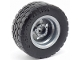 Part No: 56145c05  Name: Wheel 30.4mm D. x 20mm with No Pin Holes and Reinforced Rim with Black Tire 49.5 x 20 (56145 / 15413)