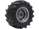 Part No: 56145c06  Name: Wheel 30.4mm D. x 20mm with No Pin Holes and Reinforced Rim with Black Tire 56 x 26 Tractor (56145 / 70695)