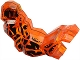 Part No: 85207c01pb01  Name: Arm Rock Monster Large, Right with Black Pattern