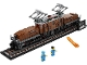 Set No: 10277  Name: Crocodile Locomotive