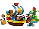 Set No: 10514  Name: Jake's Pirate Ship Bucky