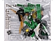 Set No: 11909  Name: Parts for Ninjago: Build Your Own Adventure (included in Book 9781465435903)
