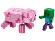 Set No: 21157  Name: BigFig Pig with Baby Zombie