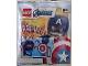Set No: 242106  Name: Captain America foil pack