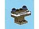 Set No: 2824  Name: Advent Calendar 2010, City (Day  7) - Piano / Organ