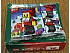 Set No: 2878  Name: Santa Claus Mos Burger Gift Box - King and Queen Santa