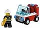 Set No: 30001  Name: Fireman's Car polybag