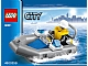 Set No: 30011  Name: Police Dinghy polybag
