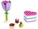 Set No: 30411  Name: Chocolate Box & Flower polybag
