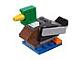 Set No: 40043  Name: Monthly Mini Model Build Set - 2012 04 April, Duck (Mallard) polybag