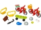 Set No: 40313  Name: Bicycles polybag