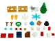 Set No: 40368  Name: Christmas Accessories polybag