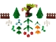 Set No: 40376  Name: Botanical Accessories polybag