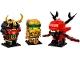 Set No: 40490  Name: Ninjago 10th Anniversary BrickHeadz