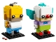 Set No: 41632  Name: Homer Simpson & Krusty the Clown
