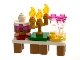 Set No: 41690  Name: Advent Calendar 2021, Friends (Day 22) - Table with Cake, Candelabra, and Goblets