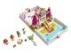 Set No: 43193  Name: Ariel, Belle, Cinderella and Tiana's Storybook Adventures