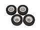 Set No: 5003224  Name: Medium Truck Tires and Rims