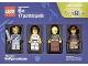 Set No: 5004422  Name: Minifigure Collection, Warriors (TRU Exclusive)