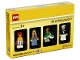 Set No: 5004941  Name: Minifigure Collection, Bricktober 2017 4/4 (TRU Exclusive)