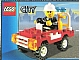 Set No: 5532  Name: Fire Car polybag