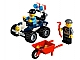 Set No: 60006  Name: Police ATV