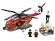 Set No: 60010  Name: Fire Helicopter - (Undetermined Version)