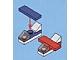 Set No: 60024  Name: Advent Calendar 2013, City (Day 19) - Toy Planes