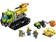 Set No: 60122  Name: Volcano Crawler