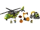 Set No: 60123  Name: Volcano Supply Helicopter