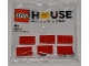 Set No: 624210  Name: 6 Bricks polybag