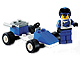 Set No: 6618  Name: Blue Racer
