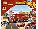 Set No: 66392  Name: Duplo Cars Super Pack 3 in 1 (5816, 5817, 5818)