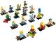 Set No: 71005  Name: Minifigure, The Simpsons, Series 1 (Complete Series of 16 Complete Minifigure Sets)