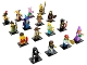 Set No: 71007  Name: Minifigure, Series 12 (Complete Series of 16 Complete Minifigure Sets)