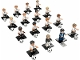Set No: 71014  Name: Minifigure, Deutscher Fussball-Bund / DFB (Complete Series of 16 Complete Minifigure Sets)