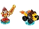 Set No: 71222  Name: Fun Pack - Legends of Chima (Laval and Mighty Lion Rider)