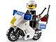 Set No: 7235  Name: Police Motorcycle - Blue Sticker Version